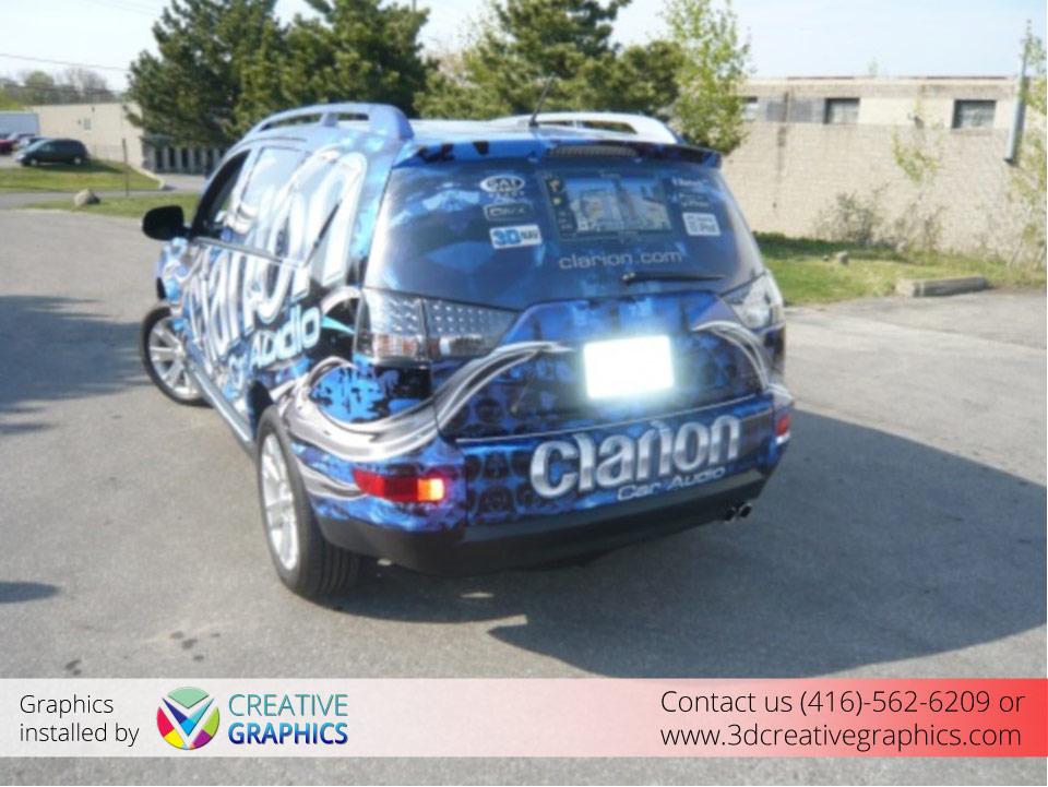 Clarion Van Wrap