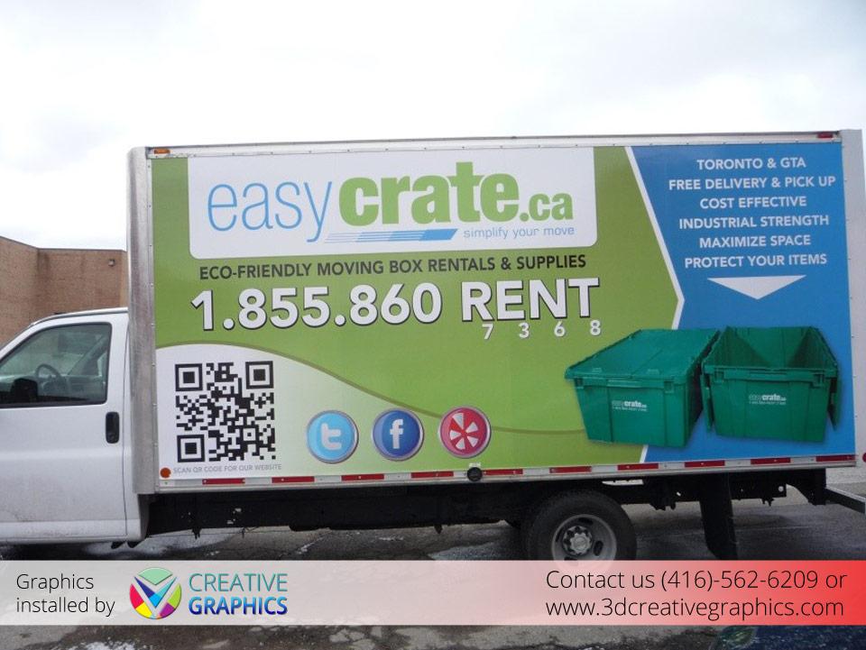 EasyCrate Truck Full Wrap