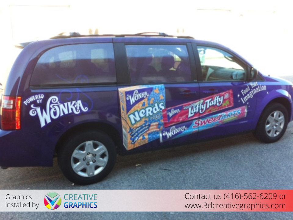 Wonka Van Wrap