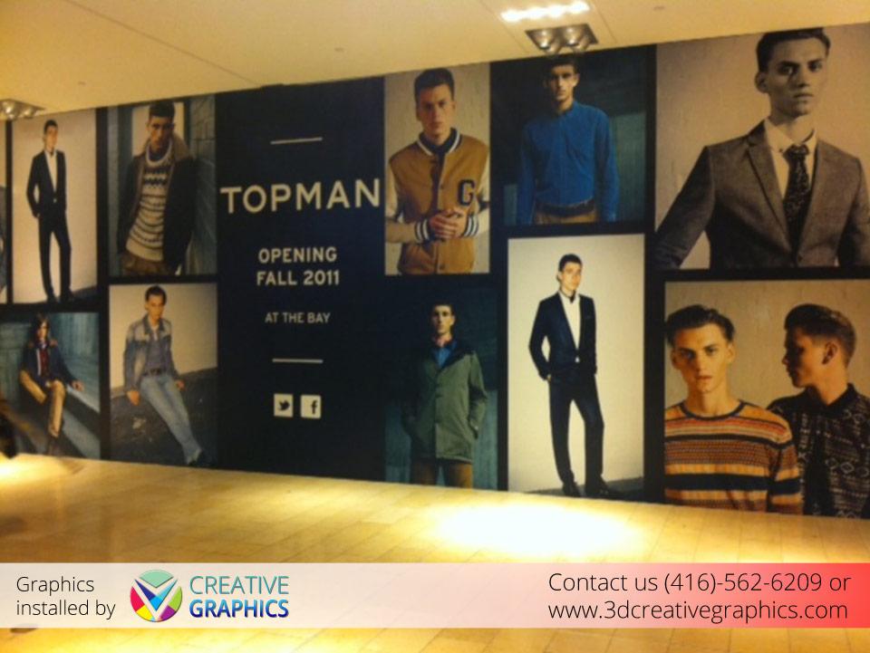TOPMAN Wall Wrap