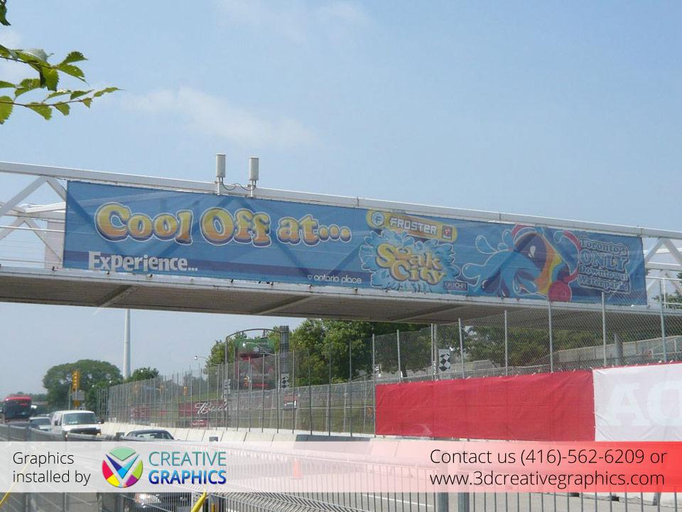Froster Soar City Banner