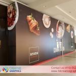 Aroma Coffee Shop Walls Wrap