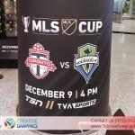 MLS Cup Pillars Wall Wrap